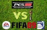 Batalha de títulos: FIFA 2009 vs PES 2009